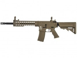 Airsoft rifle M4 KEYMOD 10' Sportline (LT-19 Gen.2) - TAN [Lancer Tactical]