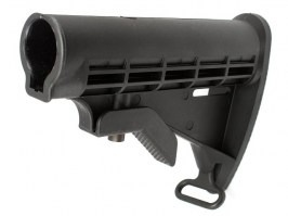 M4 retractable stock - without tube - black [A.C.M.]