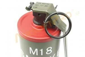 Dummy M18 Smoke Grenade - red [A.C.M.]
