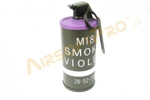 Dummy M18 Smoke Grenade - purple [A.C.M.]