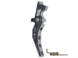 CNC Aluminum Advanced Trigger (Style C) for M4 - titan [MAXX Model]