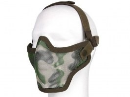 Face protecting mesh mask - Jungle