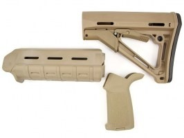 Grip, foregrip and stock kit - TAN [A.C.M.]