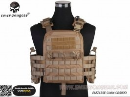 NCPC Tactical Vest - Coyote Brown (CB) [EmersonGear]