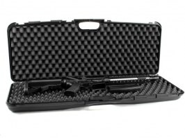 Rifle Hard Case (82 x 29,5 x 8,5cm) - black (1604-SEC) [Negrini]