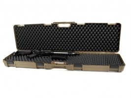 Rifle Hard Case (117,5 x 29 x 12cm) - Coyote Brown (CB)(1640C-ISY) [Negrini]