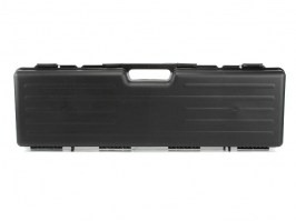 Rifle Hard Case (81 x 23 x 10cm) - black (1610-SEC) [Negrini]