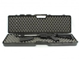 Rifle Hard Case (95 x 23 x 10cm) - black (1617-SEC) [Negrini]