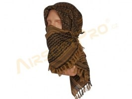 Shemag, palestine scarf 110x110cm - brown [EmersonGear]