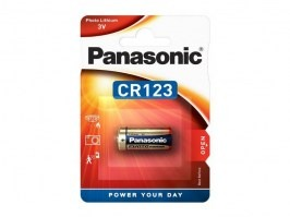 Lithium non-rechargeable battery 3V CR123A [Panasonic]