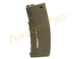 190 rounds polymer magazine for M4/M16 - TAN [AimTop]