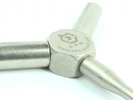 Valve key for gas guns [PPS]