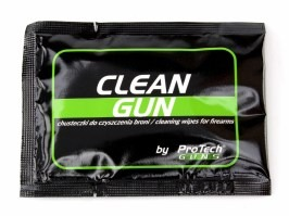 Clean Gun weapon cleaning wipes [Pro Tech Guns]