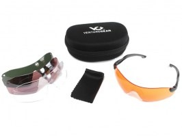 Protective glasses Venture Gear Dropzone with 4 anti-fog lenses [Pyramex]
