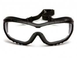 Protective goggles V3G, anti-fog - clear