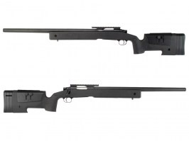 Airsoft sniper rifle M40A3 - black