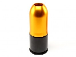 40mm gas grenade for Paintball, or 80 BBs - Long [Shooter]