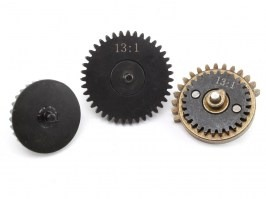 CNC torque-up gear set 13:1 - New type with integrated axis [Shooter]