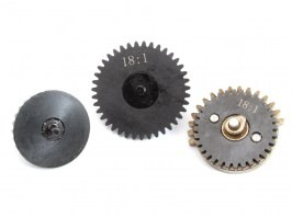 CNC torque-up gear set 18:1 - New type with integrated axis [Shooter]