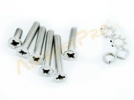 Spare screws for gearbox version 3 - stainless steel [Shooter]