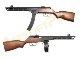 PPSh - ABS stock, Full Metal, EBB, 2x magazine (SW-09A) [Snow Wolf]