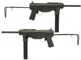 M3A1 Grease gun, full metal (SW-M6-02)