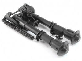 Metal spring return folding bipod [Snow Wolf]