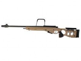 Airsoft sniper SV-98 (SW-025(TN)) spring action rifle, full metal - TAN