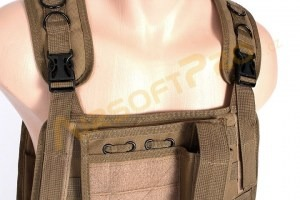 Plate carrier harness vest - Coyote Brown (CB) [A.C.M.]