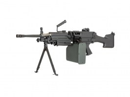 SA-249 MK2 CORE™ machine gun replica - black [Specna Arms]