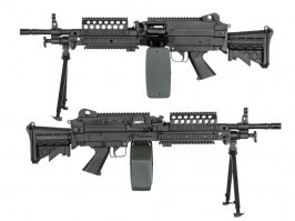 SA-46 CORE™ machine gun replica - black