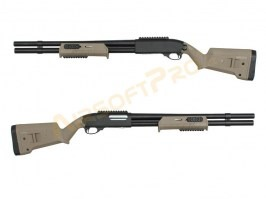 MAP style M870 Shotgun, fullmetal - TAN - UNRELIABLE