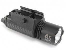 M3 LED Tactical Flashlight with the RIS gun mount - black [S&T]