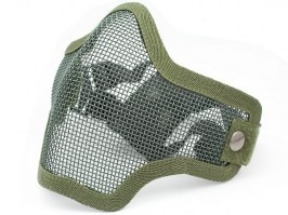 Face protecting STRIKE mask with mesh - green [EmersonGear]