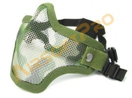 Face protecting STRIKE mask with mesh - jungle [EmersonGear]
