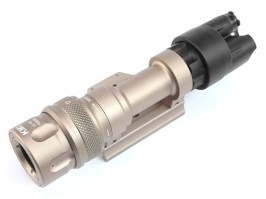 M952 LED Tactical Flashlight with the QD RIS gun mount - DE [Target One]