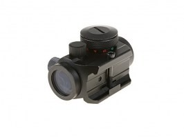 Compact I Reflex Sight Replica with the low mount - Black [Theta Optics]
