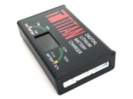 Digital charger for Li-Ion, Li-Po batteries [TITAN]