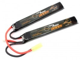 Battery Li-Po 7,4V 2000mAh 15C [TopArms]