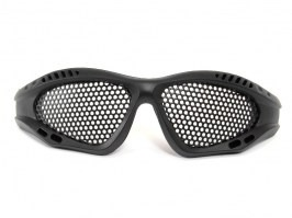 Eye protective mesh goggles - small, black [TopArms]