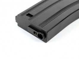 Mid cap 130 rounds magazine for M4, Black, ABS [UFC]