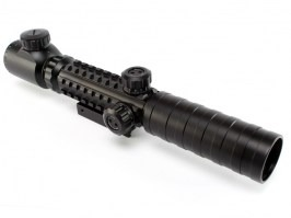 3-9x32 EG Tri Rail Illuminated scope - black [UFC]