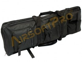 Twin assault rifle carrying bag - 60 and 85cm - black [A.C.M.]