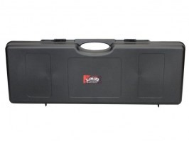 Plastic rifle hard case 85cm - black