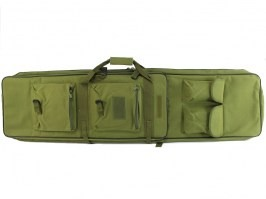 Double rifle carrying bag for sniper rifles - 120cm, green [UFC]