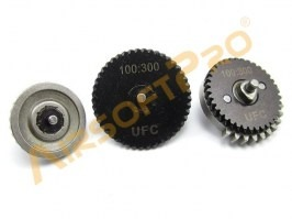 CNC Low Noise Gear Set 100:300 - bevel gear [UFC]