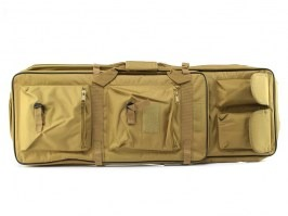 Twin assault rifle carrying bag - 60 and 85cm  - Coyote Brown (CB) [UFC]