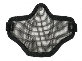 Face protecting stalker style mesh mask - black [Ultimate Tactical]