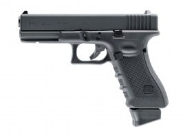 Airsoft pistol Glock 17 Gen.4 IB, metal slide, CO2 blowback - black [UMAREX]