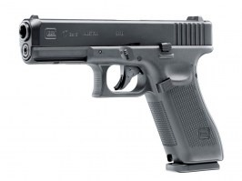 Airsoft pistol Glock 17 Gen.5, metal slide, CO2, blowback - black [UMAREX]